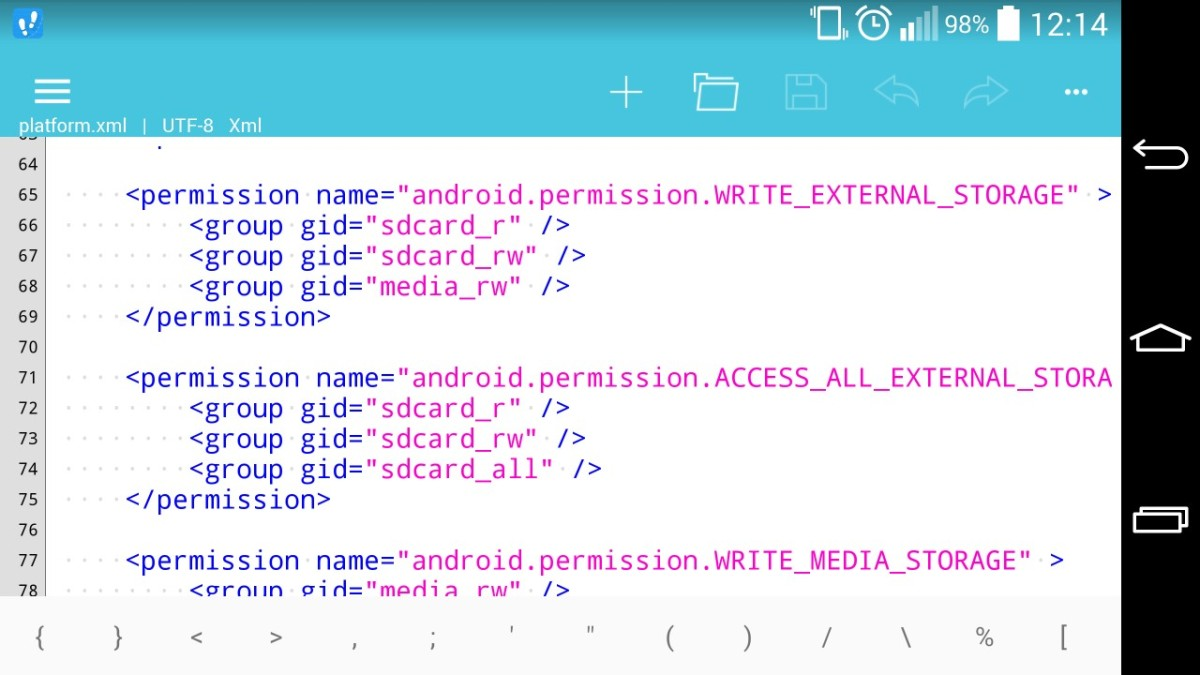 Android Writeable External SD Card